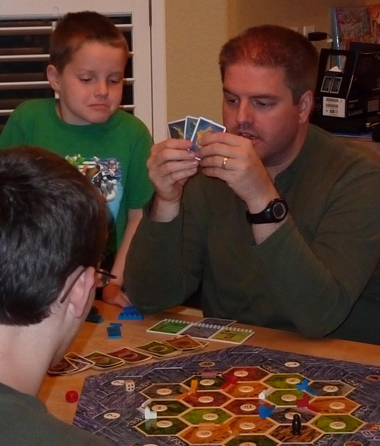 Jeff Playing Catan
