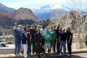 The Code-a-Thon team at Garden of the Gods.